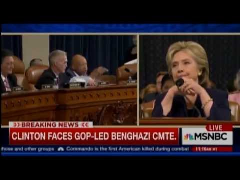 Benghazi Committee Hearing Descends Into A Shouting Match