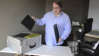 Loading Large Format Sheet Film