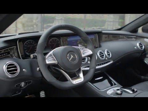 The New Mercedes-AMG S 63 4MATIC Cabriolet - Interior Design Trailer   AutoMotoTV