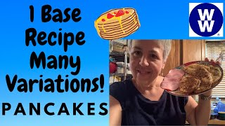 My WW | Pancakes , Pancake Muffins and Waffles | One Base Recipe Many Variations