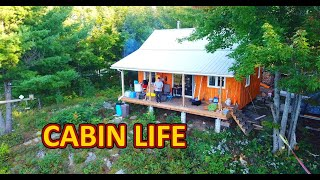 The Elk Hunt Begins - Off Grid Wilderness Cabin Life