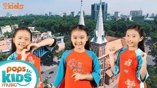 Sài Gòn Đẹp Lắm - Nhóm Hoa Mặt Trời Kids | Nhạc Thiếu Nhi Sôi Động