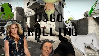 CSGO TROLLING: INSANE TRICKSHOTS AND RAGE QUITTERS