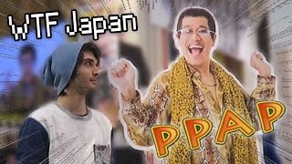 PPAP Pen-Pineapple-Apple-Pen... CAFE!!? (WTF Japan)
