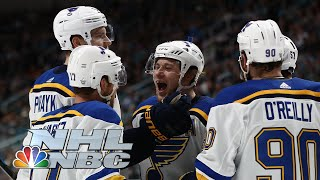 NHL Stanley Cup Playoffs 2019: Blues vs. Sharks| Game 5 Extended Highlights | NBC Sports