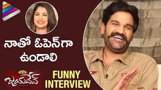 Ganta Ravi Reveals Malvika Raaj's Habits | Latest Funny Interview | Jayadev Telugu Movie