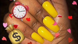 Vlogtober: Save Your Time and Money | Beautiful Nails in Under 10 Minutes for Under $10