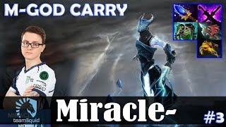 Miracle - Razor Safelane | M-GOD CARRY | Dota 2 Pro MMR Gameplay #3