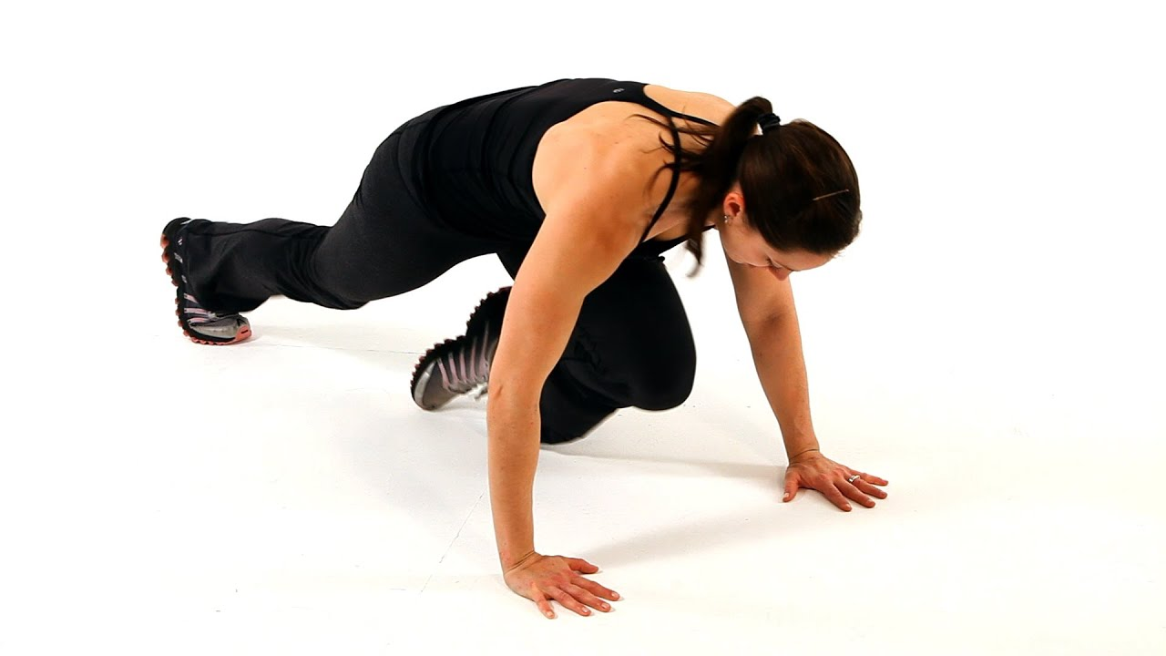 How To Do A Mountain Climber Boot Camp Workout Youtube