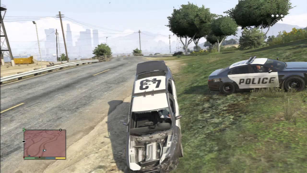 Gta Funny Car Crashes