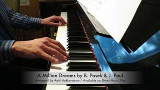 A Million Dreams From The Greatest Showman Piano