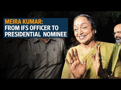 Meira Kumar: From IFS officer to presidential election candidate