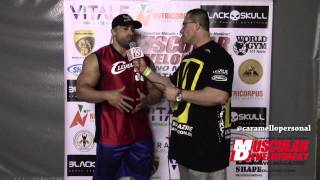 Entrevista Victor Luna (Big Boy) no Mr. Rio IFBB 2015 - por Caramello personal