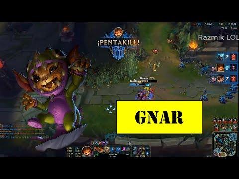 Gnar Montage #2 - Gnar Top Pentakill - Best Gnar Plays Compilation[Razmik LOL]
