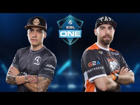 CS:GO - SK vs. Virtus.Pro [Nuke] Map 3 - ESL One New York 2016 - Semifinal