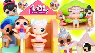 LOL Surprise Dolls Lil Can Do Boi School Bus