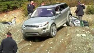 2012 Range Rover Evoque Launch, Off Road