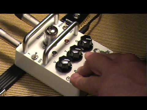 Soul Drive vacuum tube booster overdrive pedal DEMO