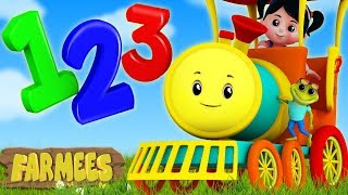 The Numbers Song | Learn Numbers | Counting Song | Preschool Rhymes by Farmees