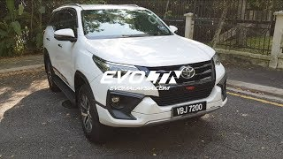 The Zombie Apocalypse Ready Toyota Fortuner Diesel Review | Evomalaysia.com