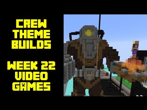 Minecraft - Your Theme Builds - Week 22 - Video Games
