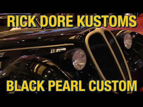 James Hetfield & Rick Dore Kustoms Present the 1948 Jaguar Coupe 'Black Pearl' Custom at SEMA 2014