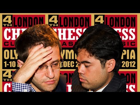 0 - Chess Video | Levon Aronian vs. Hikaru Nakamura - 2012 London Chess Classic - Chess & Mind Games