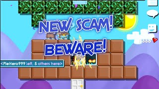 Growtopia   NEW DISPLAY BOX SCAM! (Can't Scam FAIL)