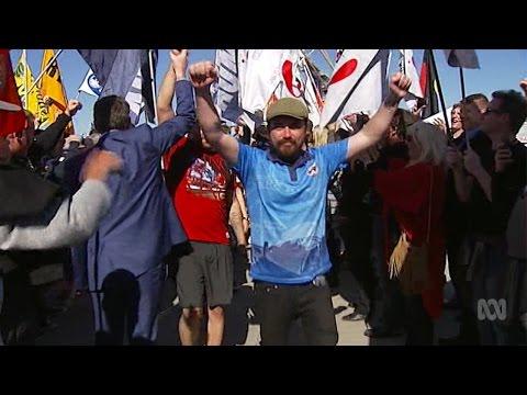 Hutchison Ports Dispute - 14 Aug 2015 - ABC News