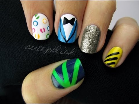 GANGNAM STYLE NAILS!