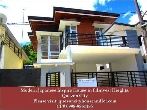 Modern Japanese Inspired House for sale in Filinvest Heights, Quezon City