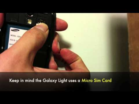 How to Unlock Samsung Galaxy Light SGH-T399 T-Mobile to use on other Networks / Carriers