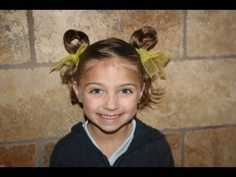 Cute Girls Hairstyles | Bunny Ear Pigtails