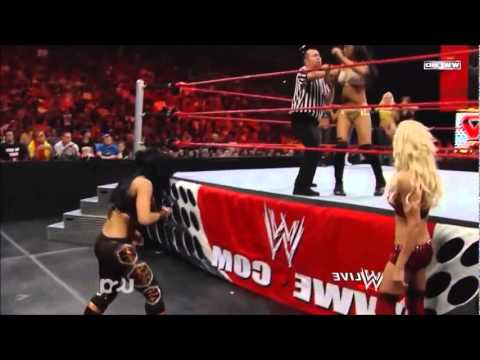 Team Maryse (SMACKDOWN) vs Team Melina (RAW).wmv