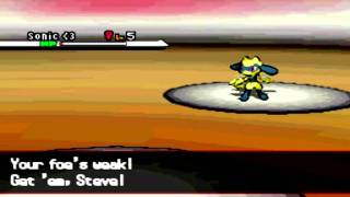 ~HD~ Pokemon Black + White Wifi Battle  #11 -Little Cup- destinyb0nd vs TheFemaleTyrogue [Narrated]