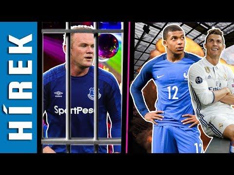 Mbappén Is Múlott Cristiano Ronaldo Sorsa? Rooney-t Letartóztatták! | TikiTaka Hírek
