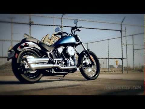 2011 Harley Blackline Review