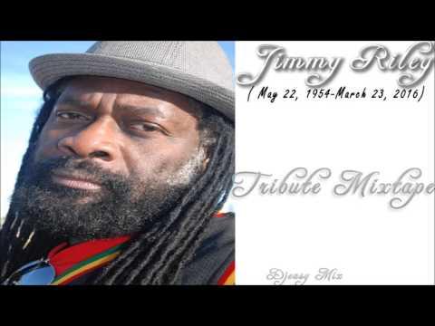 Jimmy Riley Mixtape (Tribute To A Reggae Legend)  mix by  djeasy