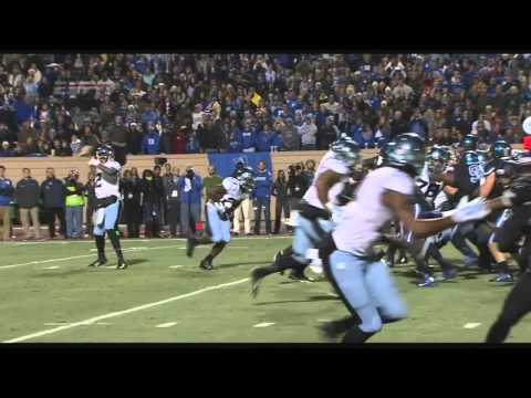 UNC Football: Quinshad Davis Touchdown Catch vs. Duke