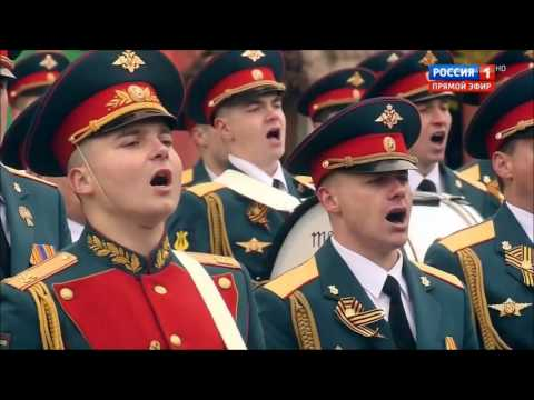 We Are The Army Of the People+Farewell of Slavianka (2017 Moscow Victory Parade)