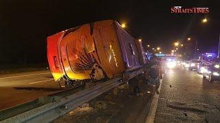 Bukit Tambun bus crash: 'The driver shouted, and the bus swayed before crashing'