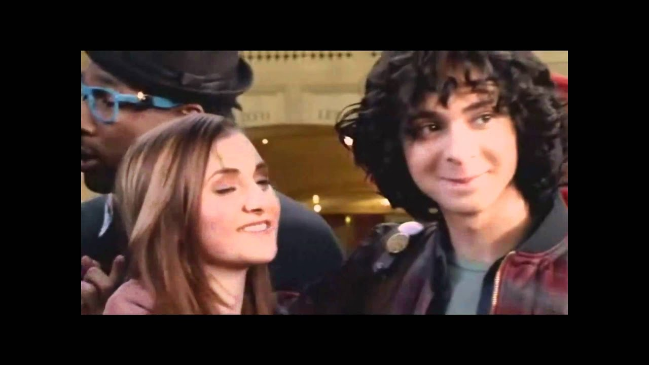 Adam sevani and alyson stoner kiss