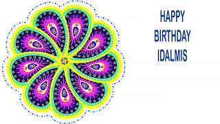 Idalmis   Indian Designs - Happy Birthday