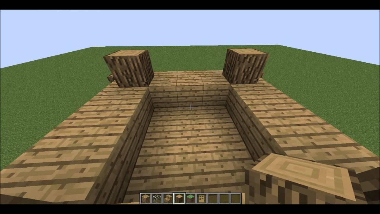 Comment faire une petite maison sympa dans minecraft youtube for Comment faire une petite maison minecraft