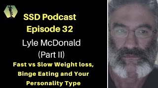 SSD Podcast Ep. 32: Lyle McDonald: (Part II): Over eating, disinhibition , rapid vs slow weight loss
