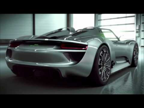 Porsche Presents 918 Spyder High-Performance Concept Sports Car in Geneva