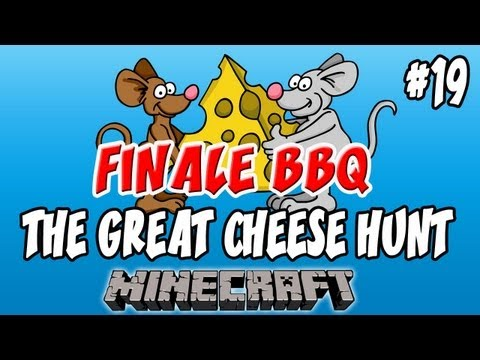BBQ! Great Cheese Hunt: Minecraft | Ep.19, Dumb and Dumber
