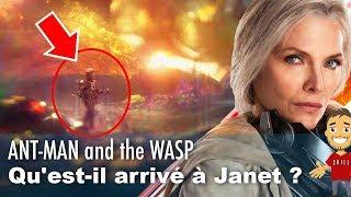 ANT-MAN 2 : qu'est-il arrivé à JANET dans le MONDE QUANTIQUE ?