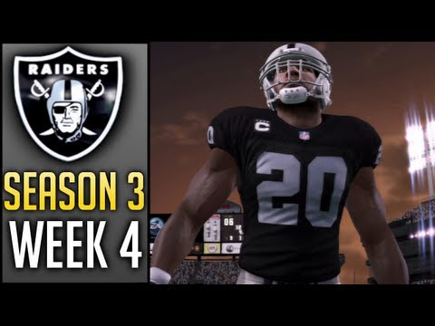 Madden 13 Connected Careers (Raiders): Week 4 vs Bengals (Season 3)