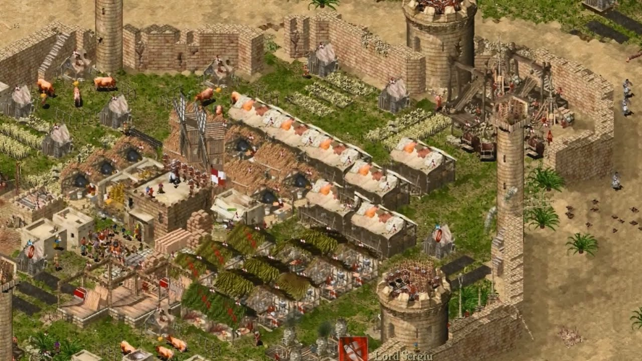 Stronghold crusader extreme patch.